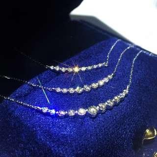 微笑鑽石頸鏈☺️