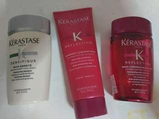 Keratase Travel Sized products