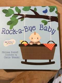 Colourful Illustrated Story Book - Rock-a-bye Baby