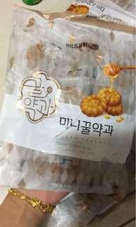 韓國傳統糕點 迷你藥果샤니 미니 200g