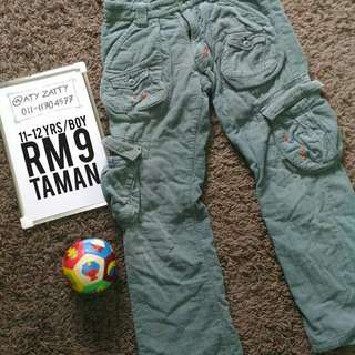 Boy Cargo Pants