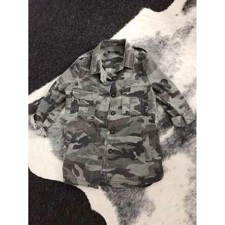 Camo jacket Size M