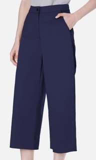 Beyond The Vines Wide Leg Cotton Twill Trouser