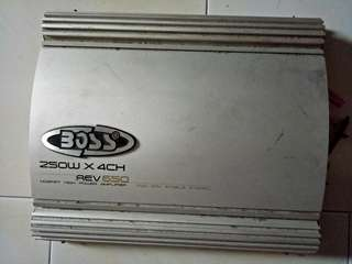 Boss 250W 4channel and for sales