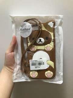 鬆弛熊iphone7plus手機套