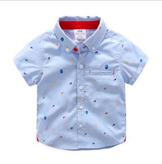 Baby summer short-sleeved shirt