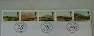 GB UK England Stamps & Special Postmark #2