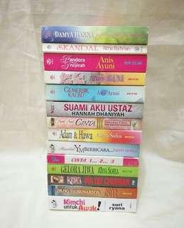 Novel Cinta Melayu SALE!!! #under20
