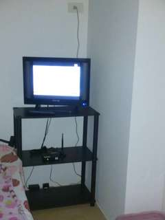 """19"""" Led TV with ABSCBN TV plus and TV stand"""