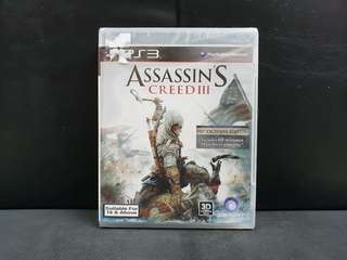 [BN] PS3 Assassin's Creed III 3 (Brand New)