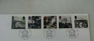 GB UK England The Age of Steam Stamps & Special Postmark #1