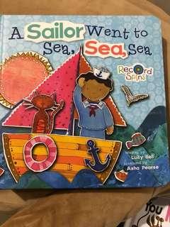 Colourful Illustrated Story Book - A Sailor went to sea sea sea