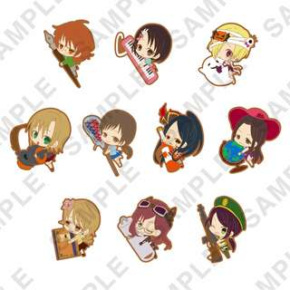 """[PO] """"The Idolmaster Cinderella Girls"""" PitaColle Rubber Strap Vol. 2 Ver. Cool"""