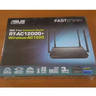 NEW Asus RT-AC1200G+ Dual Band Router