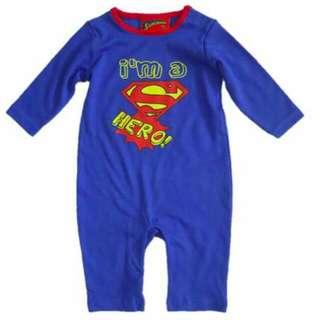 Superman Costume Sleepwear/Jumpsuit 6-9m