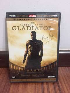 Gladiator 2 disc special edition DVD