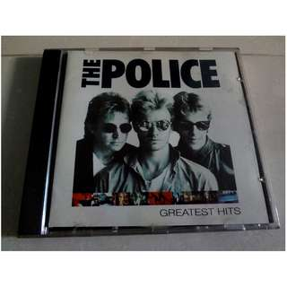 The Police CD Greatest Hits