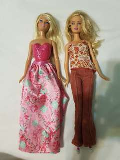 2 pcs Barbie