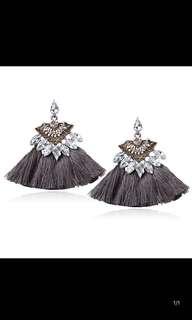 Bejewelled Tassel Earrings
