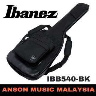 Ibanez IBB540-BK Powerpad Electric Bass Guitar Gig Bag, Black