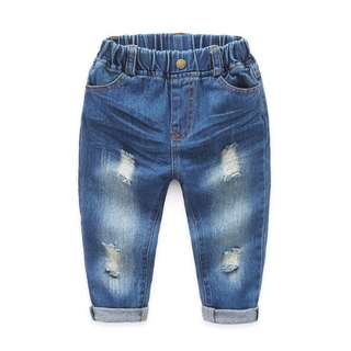 Baby jeans casual trousers