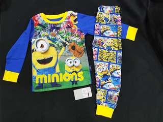 Minions PJ - 3, 6 & 7 years old