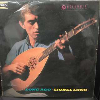 Rare Arabic Vinyl - Lionel Long - Long Ago