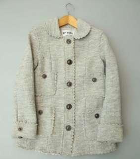 Chanel cashmere Jacket dress set