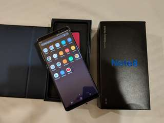 Samsung Note 8 single sim 64gb - Cebu - repriced may7