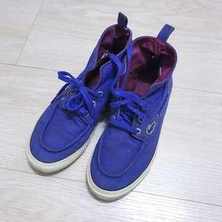 🚚 Lactose 雙色高筒帆布鞋