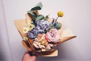 FLASH SALE: Fresh Flower Bouquet - Birthday / Anniversary