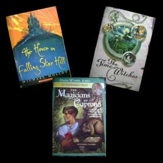 BOOK SELECTION: FANTASY - The House on Falling Star Hill * The Magicians of Caprona * The Time Witches
