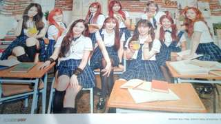 PRISTIN Schxxl Out Official Poster