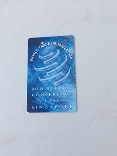 SMRT Card - World Trade Organization