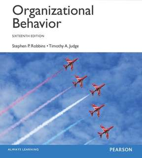 Organizational Behaviour 16th edition