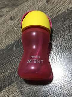 Avent straw bottle