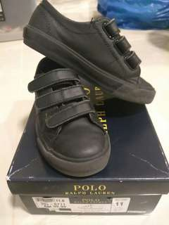 Children Black Shoe