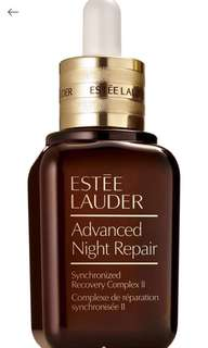 Advanced night repair 升級再生基因修護露50ml 750hkd