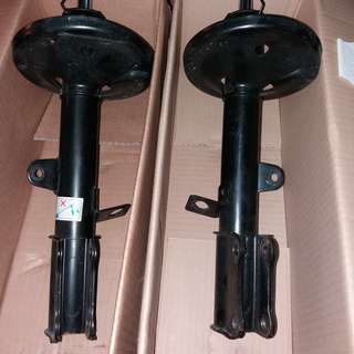 Original shock absorbers for Toyota Seg 1.6, Model AE 111  ( Rear )