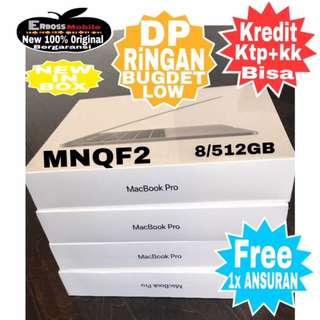 """Macbook Pro MNQF2 13""""/TochBar/i5/8/512GB-Cash/kredit Dp 5jt ktp+kk wa;081905288895"""