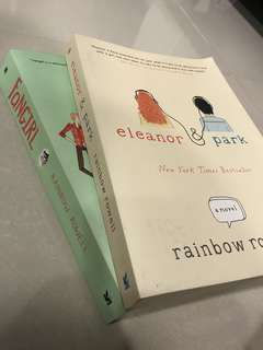 Fangirl and Eleanor & Park by Rainbow Rowell