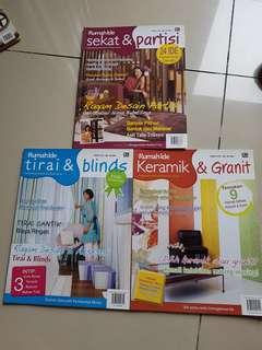 Bundling Majalah Seri Rumah Ide