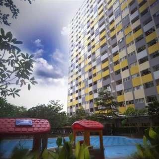 Sewa Murah Unit Harian di Apartemen Sentra Timur Residence