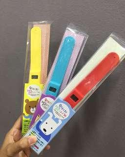Jam tangan anak material rubber japan digital