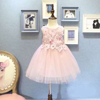 Girls summer sweet vest skirt princess dress