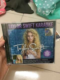 Taylor Swift Karaoke CD Limited Edition