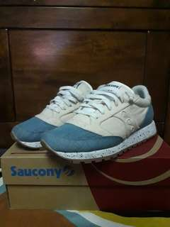 Women's Saucony Jazz Original Denim/Off White