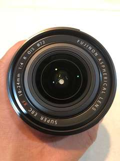 Fuji XF 10-24mm f/4 lens