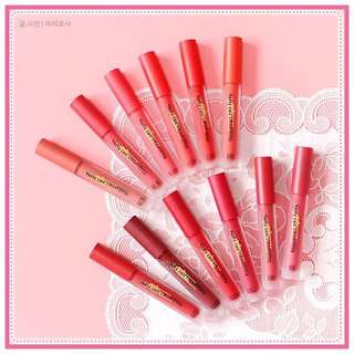 [INSTOCKS] ETUDE HOUSE Matte Chic Lip Lacquer Long Lasting Lip Tints