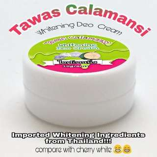 Tawas calamansi whitening cream